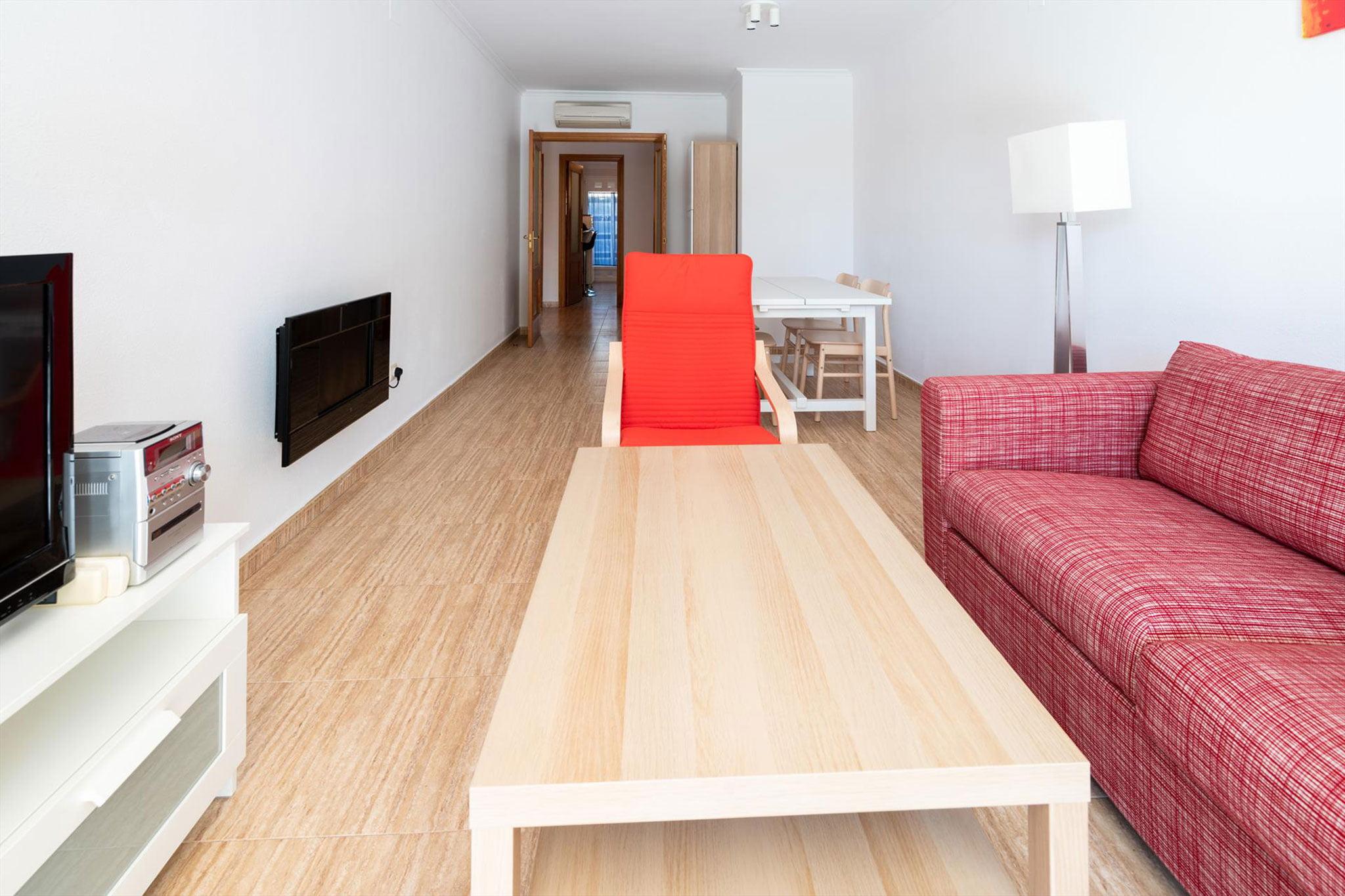Salón de un apartamento de alquiler en Jávea – Quality Rent a Villa