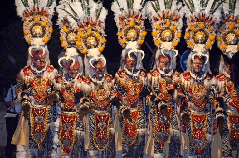 Traje de gala del desfile de 2015