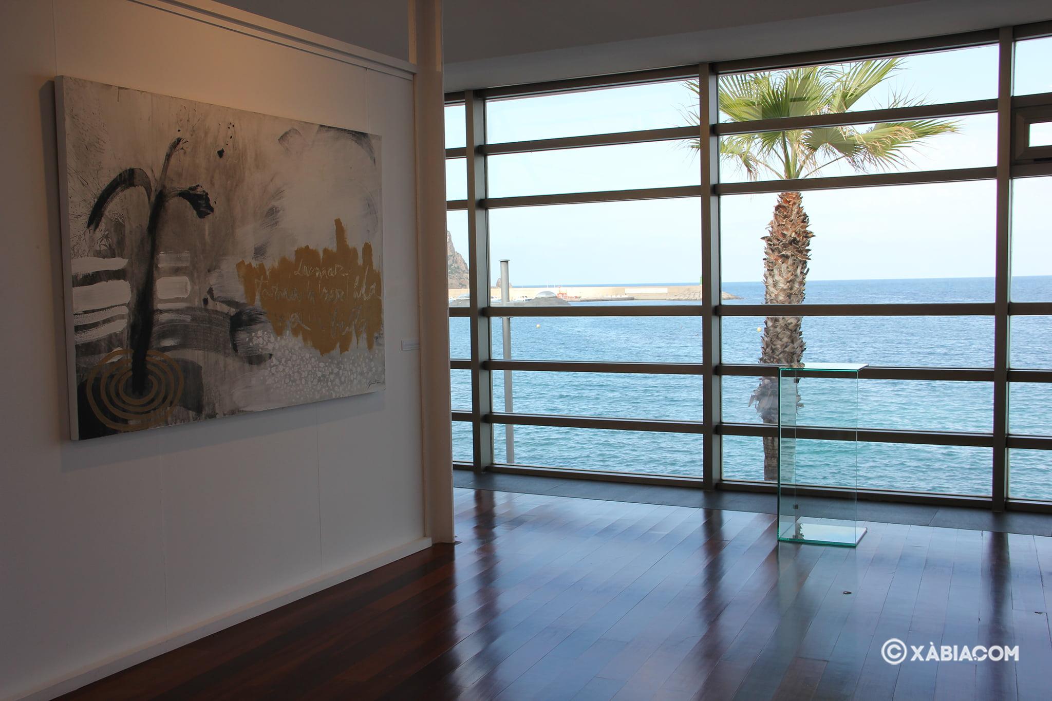 Vista del mar desde la Casa del Cable