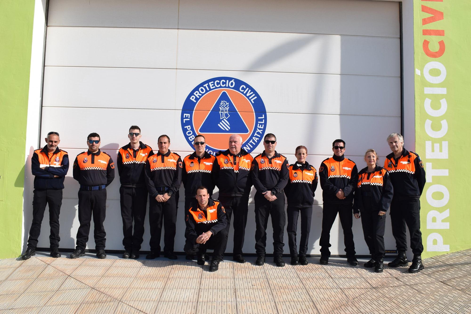 Voluntario de Protección Civil de El Poble Nou de Benitatxell
