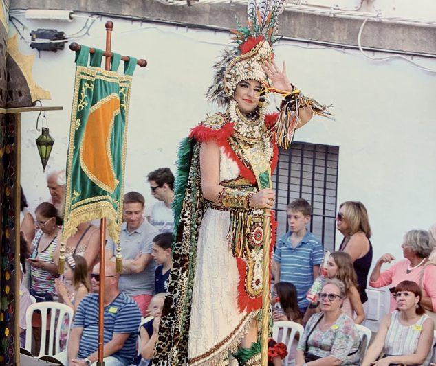 Imagen: Abanderada 2018, Paula Andrés La Cueva
