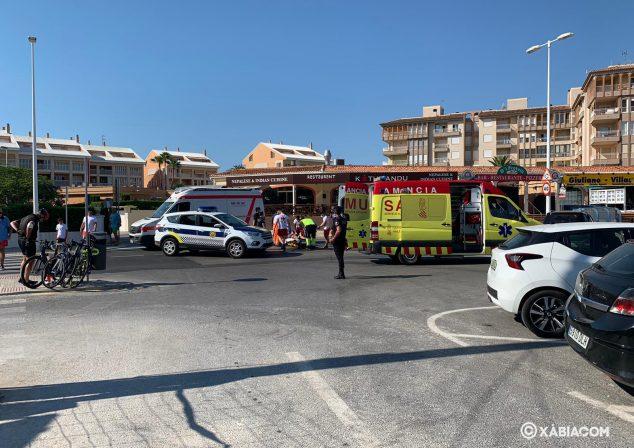 Imagen: Accidente en la playa del Arenal