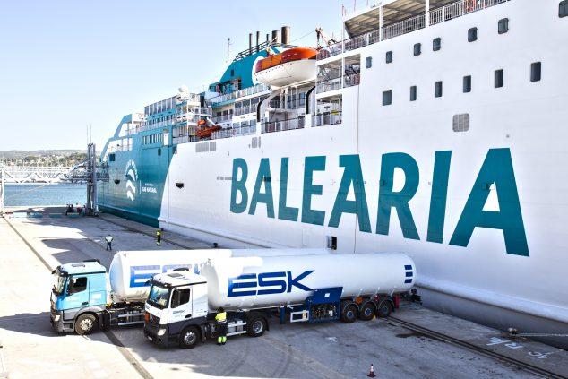Imagen: Buque de Balearia