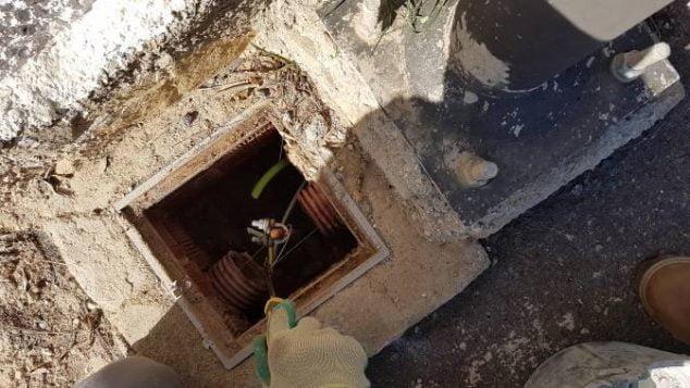 Imagen: Cambio de cableado de alumbrado público