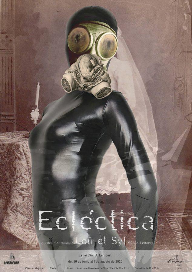 Imagen: Cartel de la exposición Ecléctica