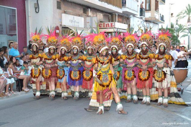 Imagen: Escuadra de mujeres de la Filà Jalufos