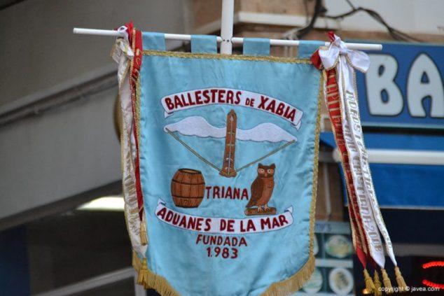 Imagen: Estandarte Filà Ballesters