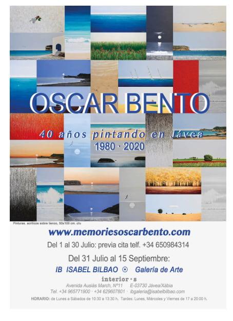 Imagen: Exposición de Oscar Bento en Xàbia