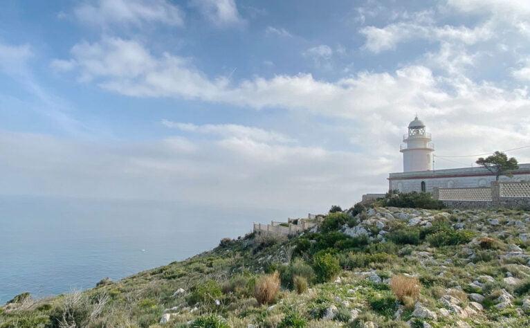 Imagen espectacular del faro del Cabo de San Antonio de Jávea