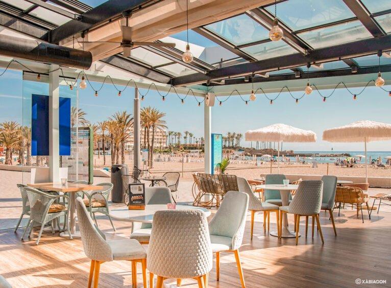Terraza de Restaurante Ammos