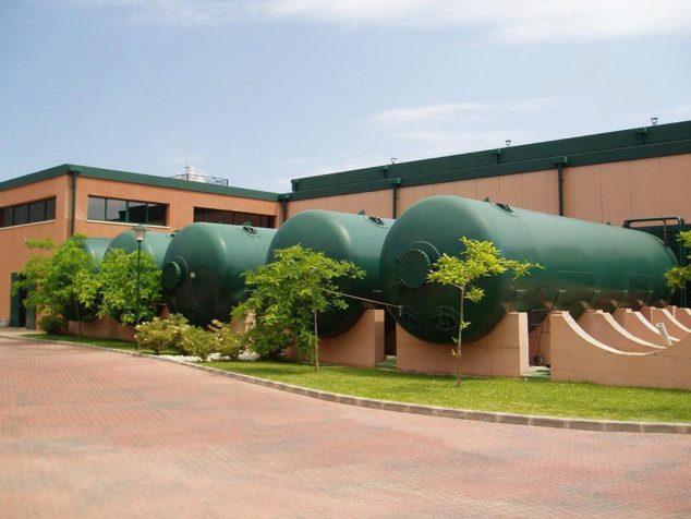 Imagen: Instalaciones de la Planta desaladora de Jávea