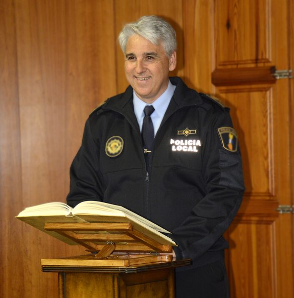 José Antonio Monfort, Intendente Jefe de la Policía Local de Xàbia