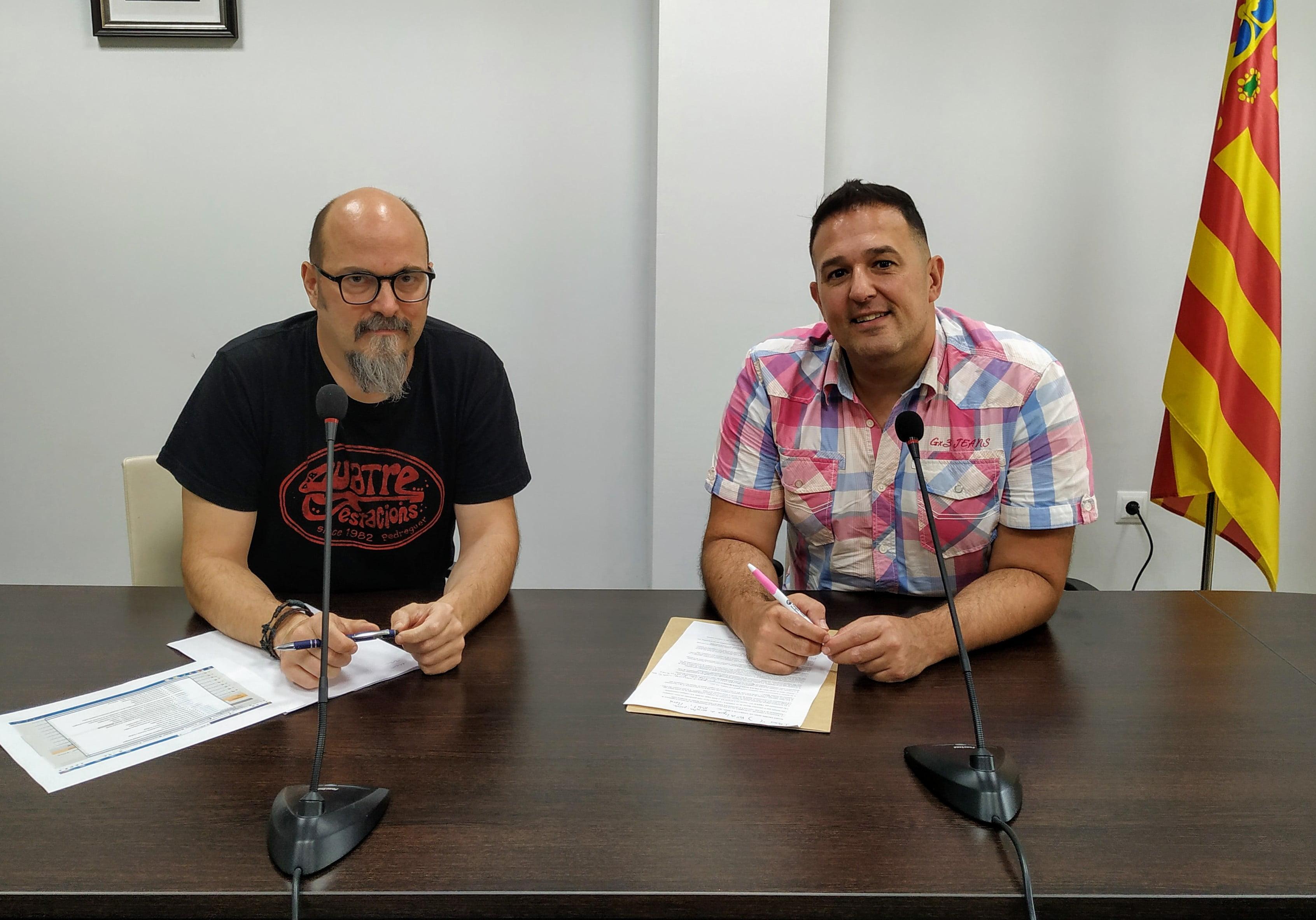 Jovi Seser y Óscar Soria