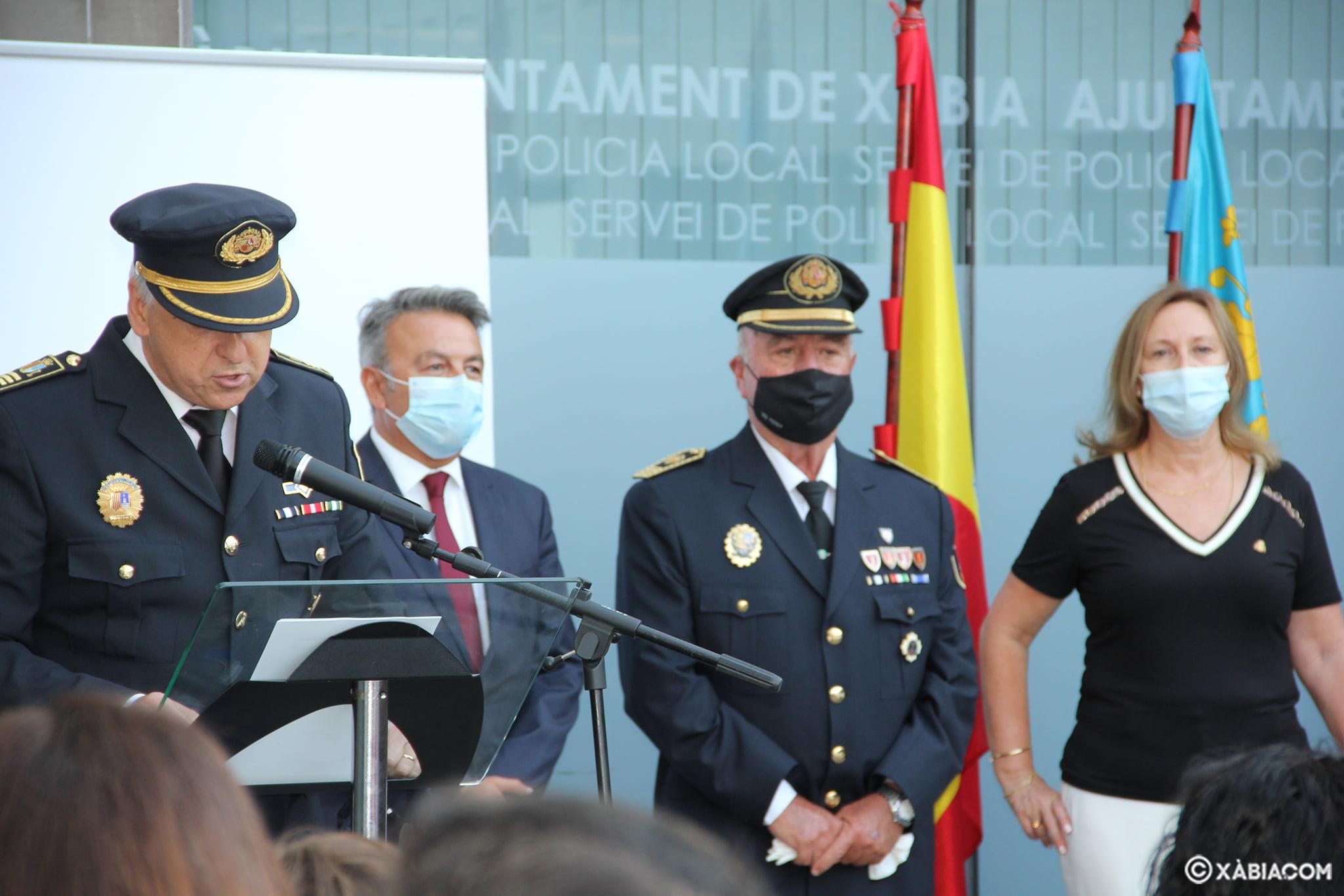 Jubilación del agente Cristóbal Buigues