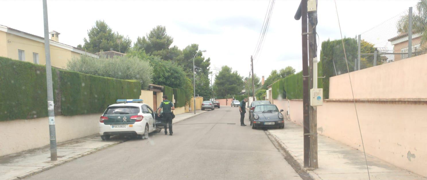 La Guardia Civil recupera el vehículo robado