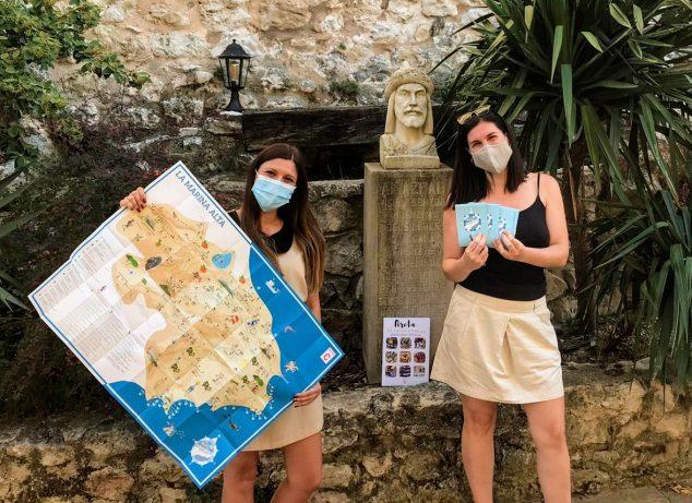 Imagen: Mapa cultural de la Marina Alta