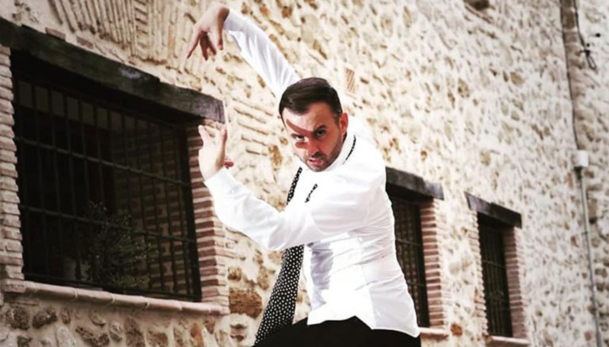 El bailarín y profesor Miguel Ángel Bolo – Centro Deportivo Dénia
