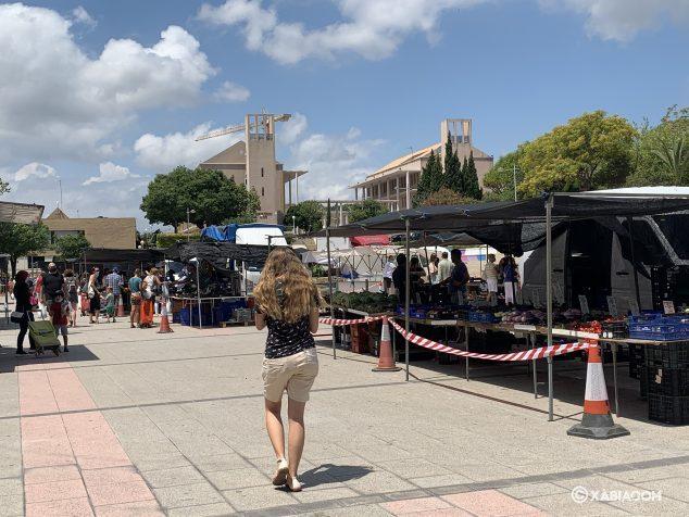 Imagen: Nueva normalidad en el mercado ambulante
