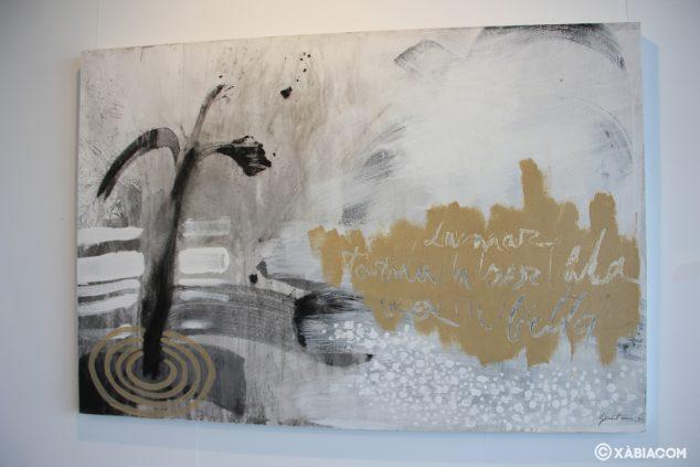 Imagen: Obra de Ginestar de la exposición 'D'ahir i d'ara' en la Casa del Cable