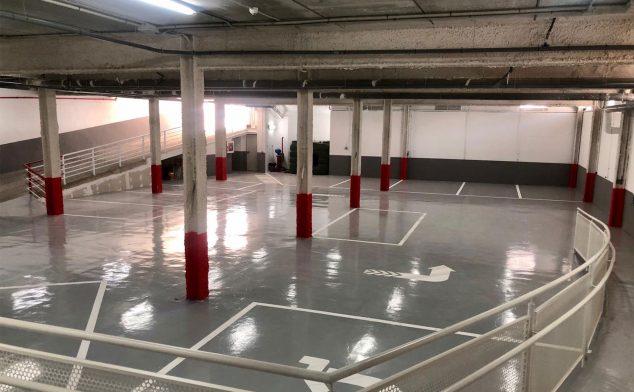 Imagen: Nuevo parking de Policlínica Glorieta