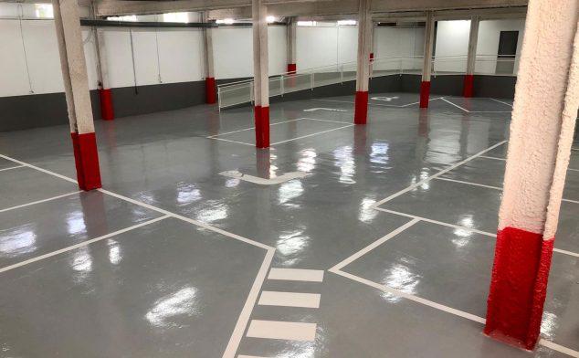 Imagen: Parking subterráneo - Policlínica Glorieta