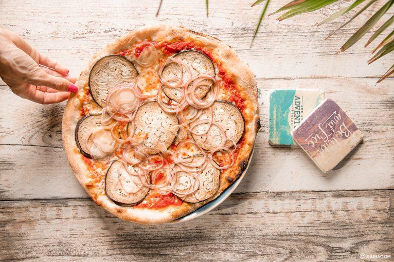 Pizza en Restaurante Ammos