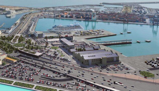Imagen: Plano de la terminal del Puerto de Valencia