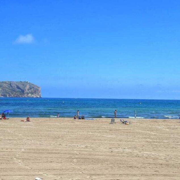 Imagen: Playa de Xàbia