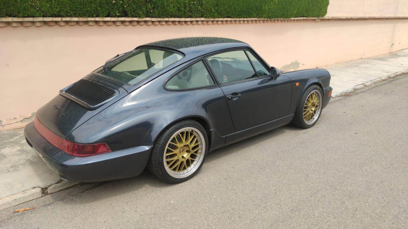 Porsche 911 Carrera 2 encontrado en L'Eliana