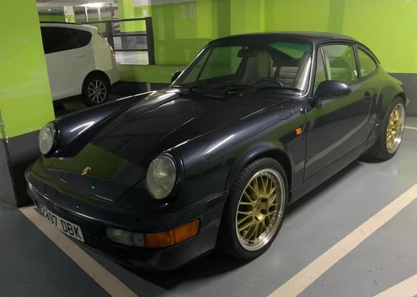 Porsche 911 Carrera 2 robado