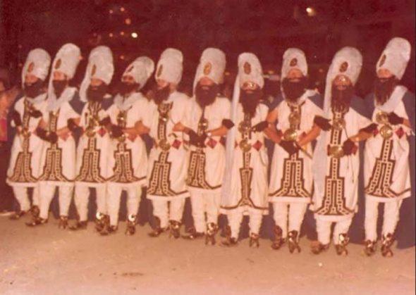 Imagen: Primer desfile de la Filà Jalufos
