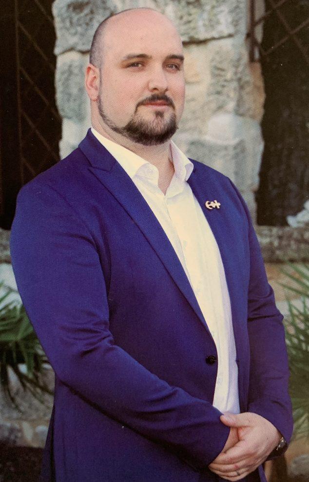 Imagen: Rubén Femenía, presidente de la Junta Central y miembro de la filà Pirates