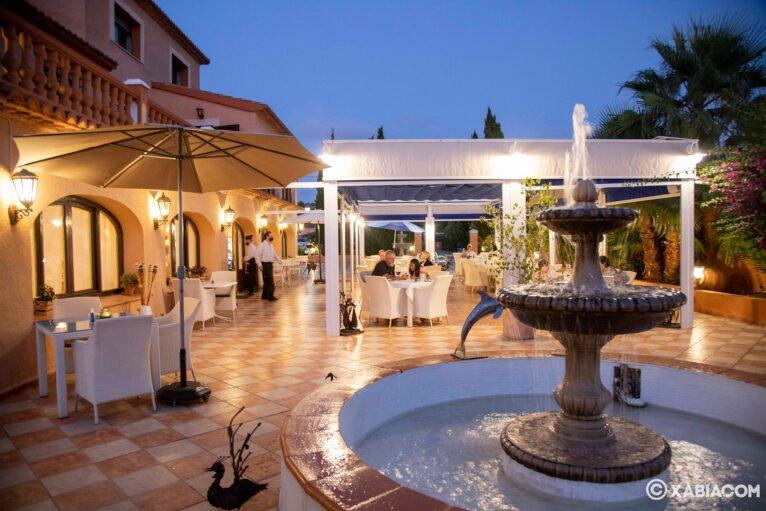 Terraza en Jávea - Restaurante Canali