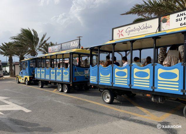 Imagen: Tren Turístico Xàbia