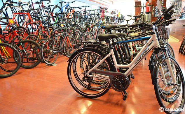 Imagen: Variedad de bicicletas en Xabia's Bike