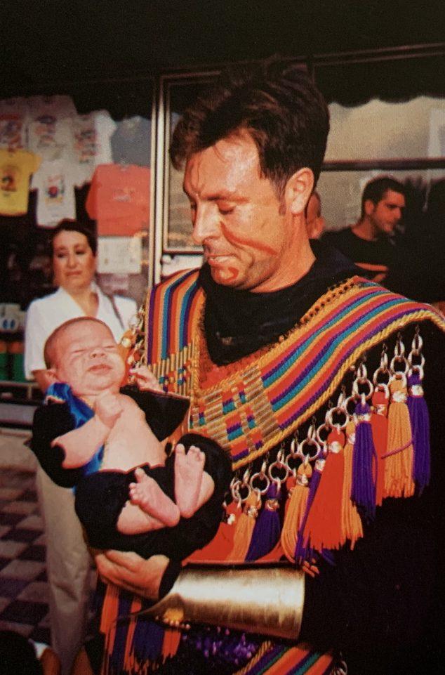 Imagen: Vicente Montaner con su hijo