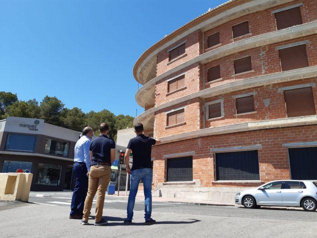 Imagen: Visita al edificio Capelletes que albergará la Tourist Info