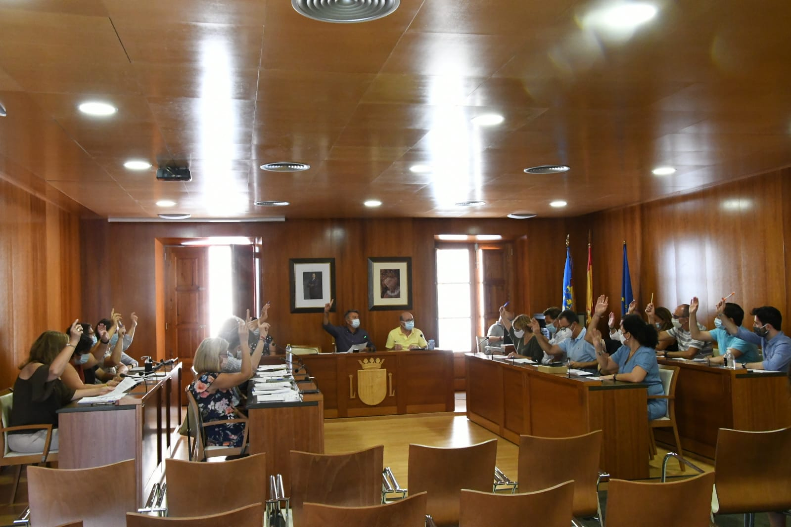 Votación unánime en la sesión plenaria de Xàbia