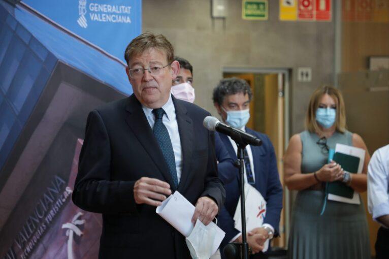 Ximo Puig, President de la Generalitat Valenciana