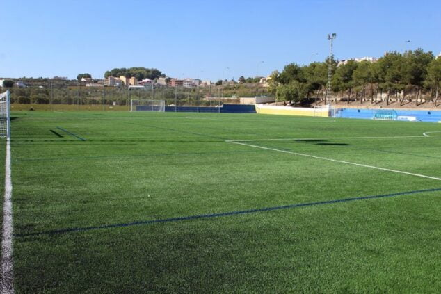 Imagen: Campo de fútbol de El Poble Nou de Benitatxell