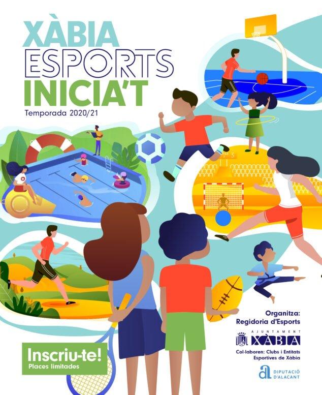 Imatge: Cartell d'Escoles esportives 2020-2021