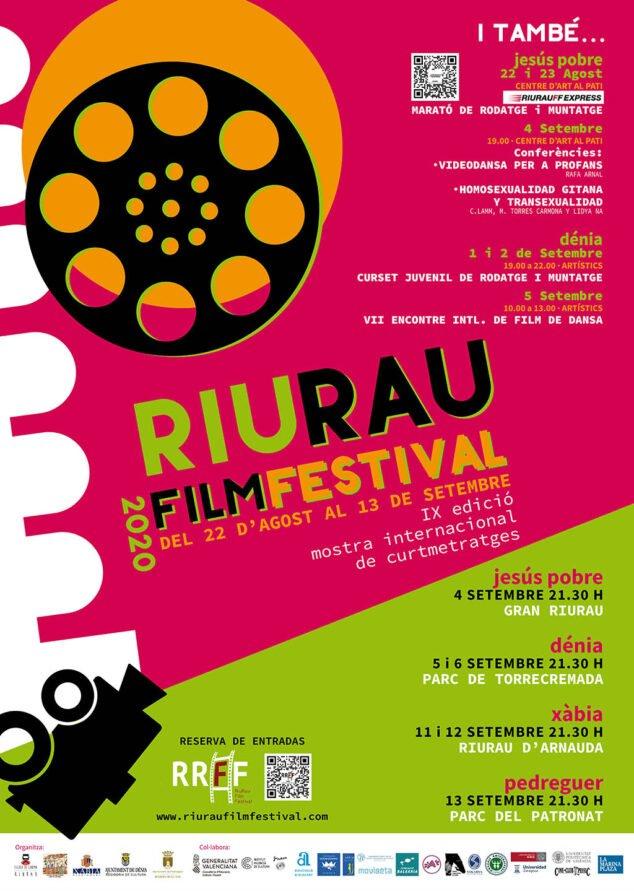 Image: Affiche du festival du film de Riurau 2020