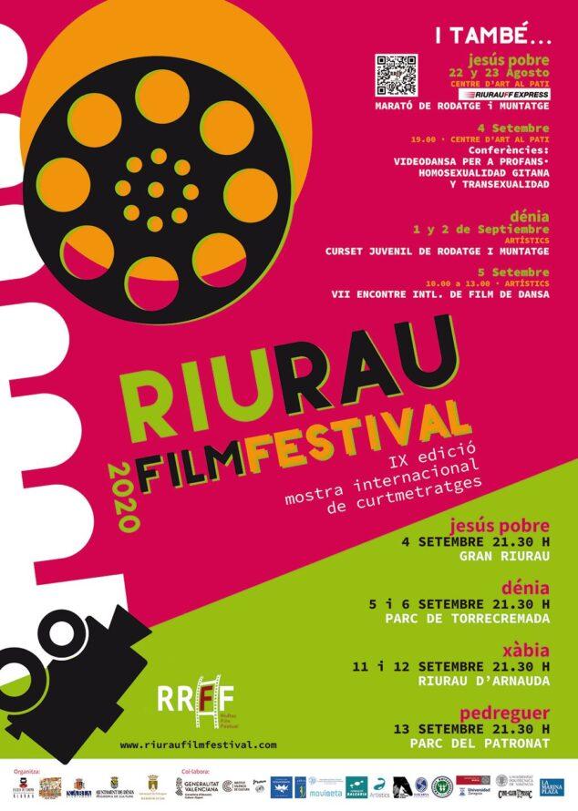Afbeelding: Riurau Film Festival Poster