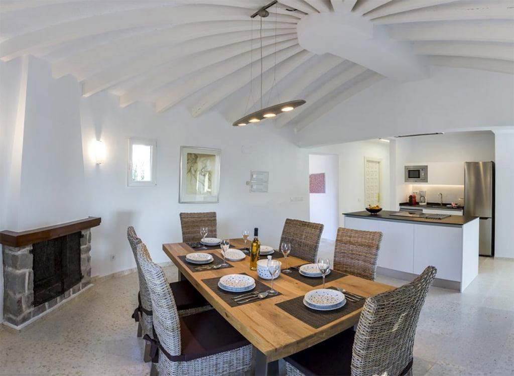Cocina americana Casa Ambolo – Terramar Costa Blanca