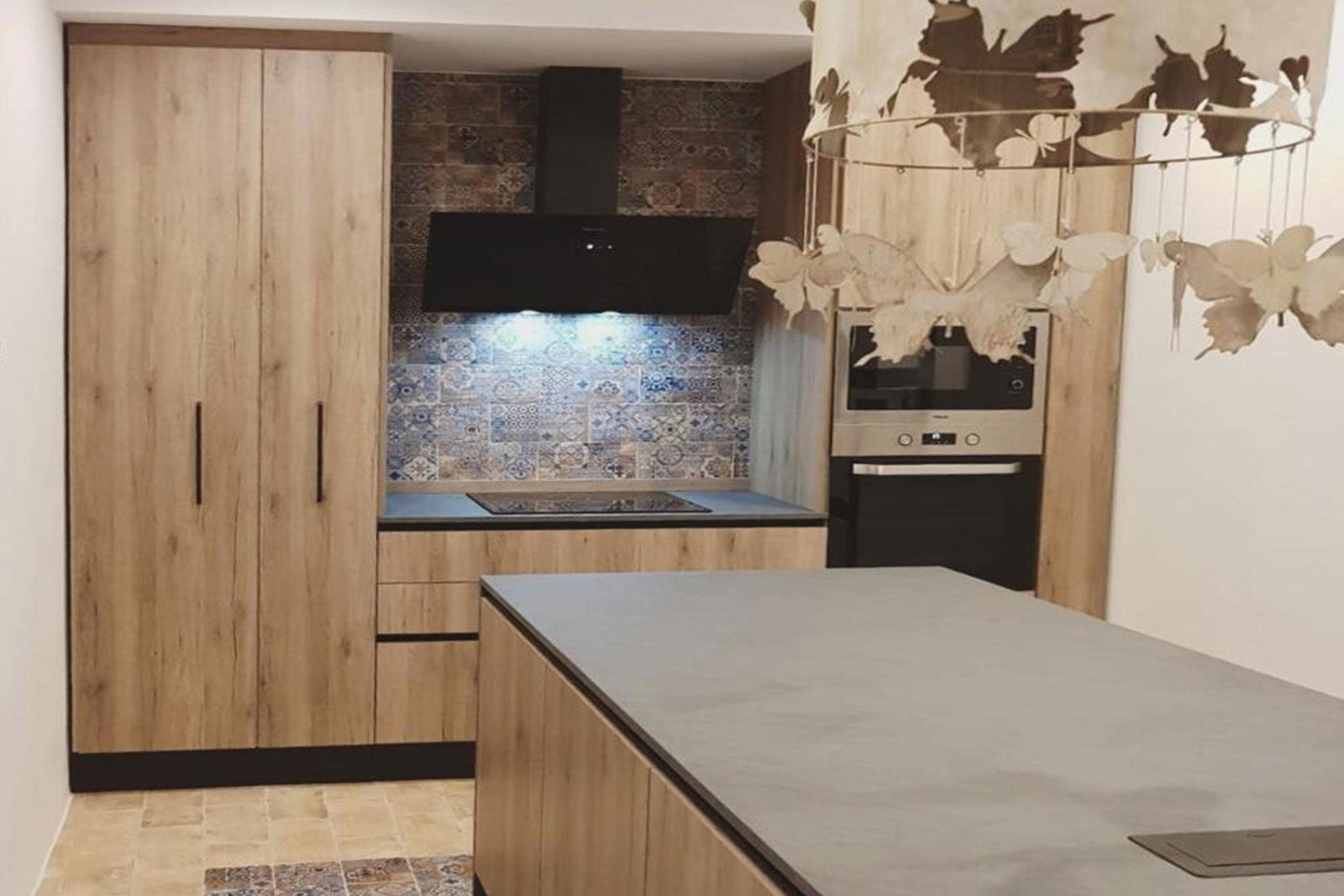 Cocina de una casa de pueblo en venta en Jávea – Atina Inmobiliaria