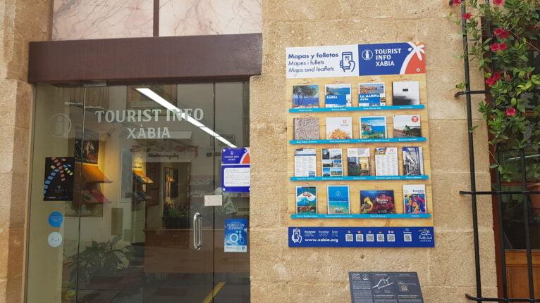 Códigos QR de la información turística de Xàbia