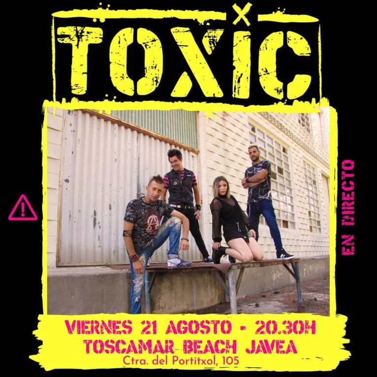 Concierto de Toxic en Xàbia