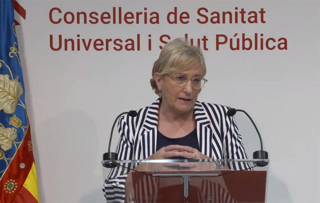 Consellera de Sanidad, Ana Barceló