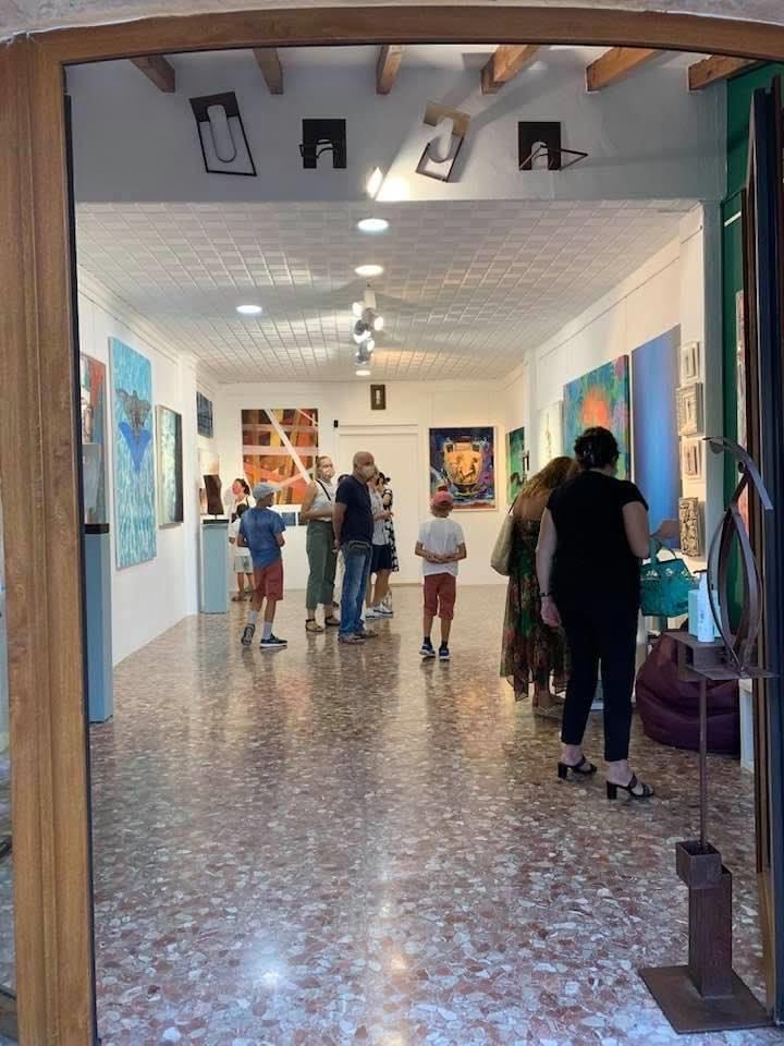 Inauguración de la exposición colectiva Summer 1