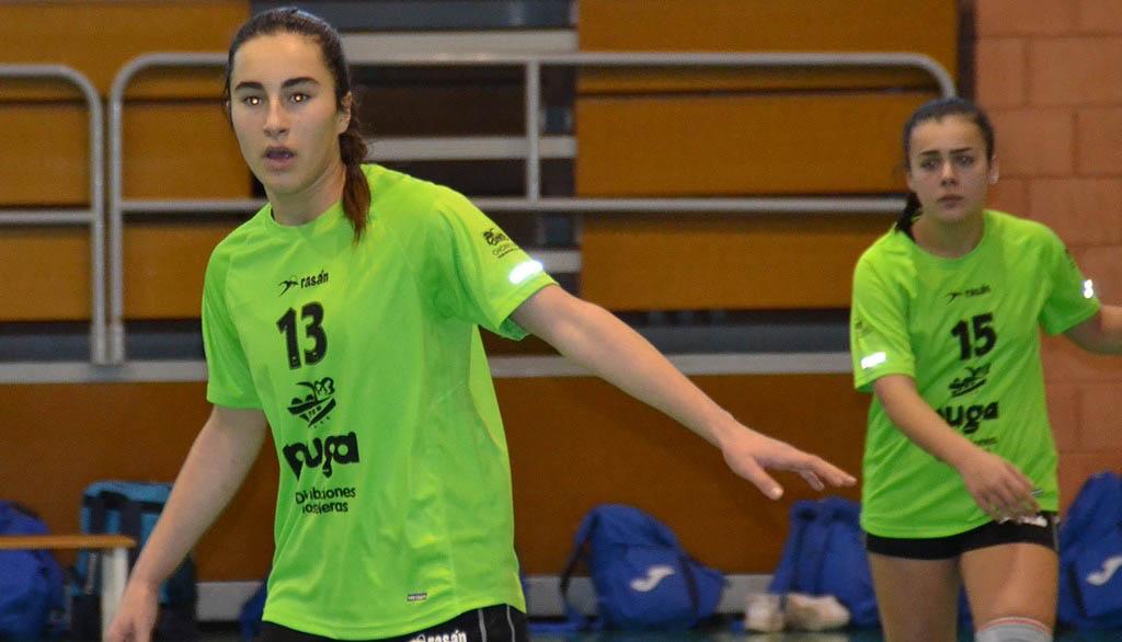 Jugadoras de balonmano de la cantera de Xàbia pasan a la División de Plata